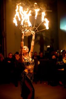 10 - Feuershow in Zürich