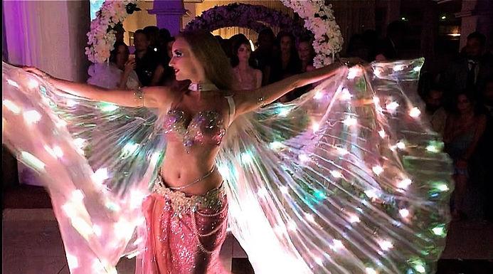 Aaliyah Zhoura - Orientalische LED Show