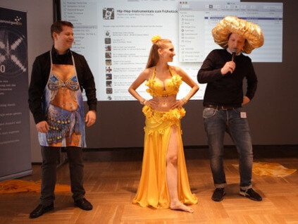 14 - Bauchtanz beim HR Barcamp im Ellington Hotel Berlin