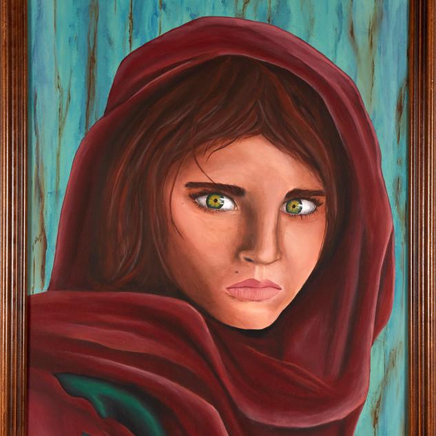 La fille Afghane