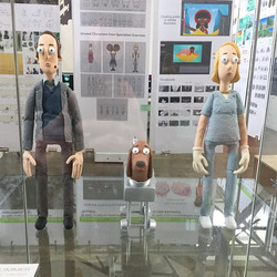 """My puppets for my most recent film """"man'"""
