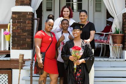 Erica Ferguson and Family