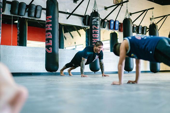 Fabiano Cyclone Aoki teaching Muay Thai classes for Kids & Adults at the Glendale Arizona gym
