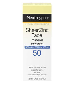 Neutrogena Dry Touch Sheer Zinc SPF 50.j