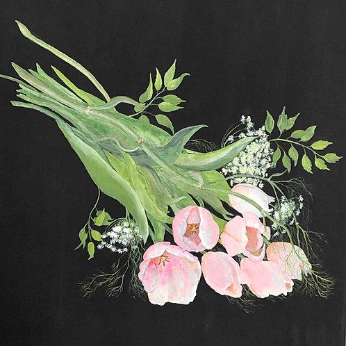 CHURIPPU Tulipes roses (MC. Bouyer)
