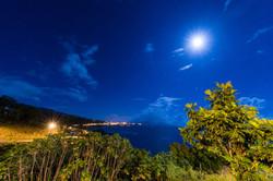 Vue du Tahara'a en pleine nuit