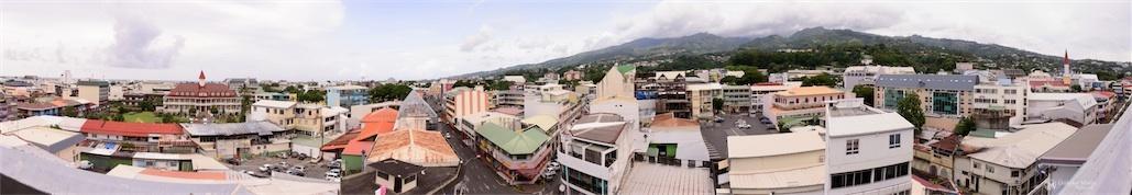 Panorama de Papeete