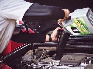 Car Oil change auto shop