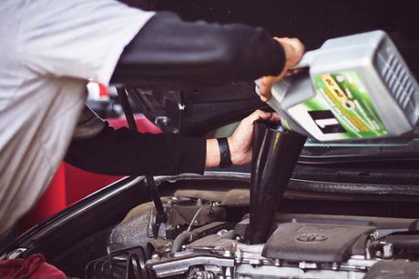 huile de voiture
