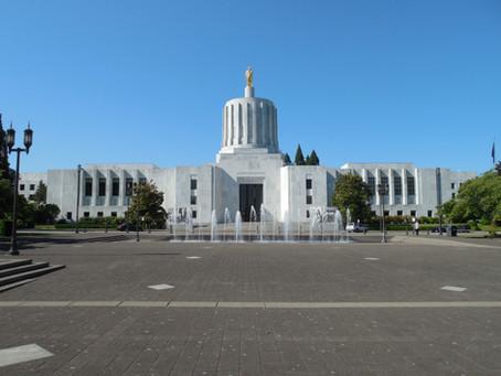 Oregon State Capitol Visit