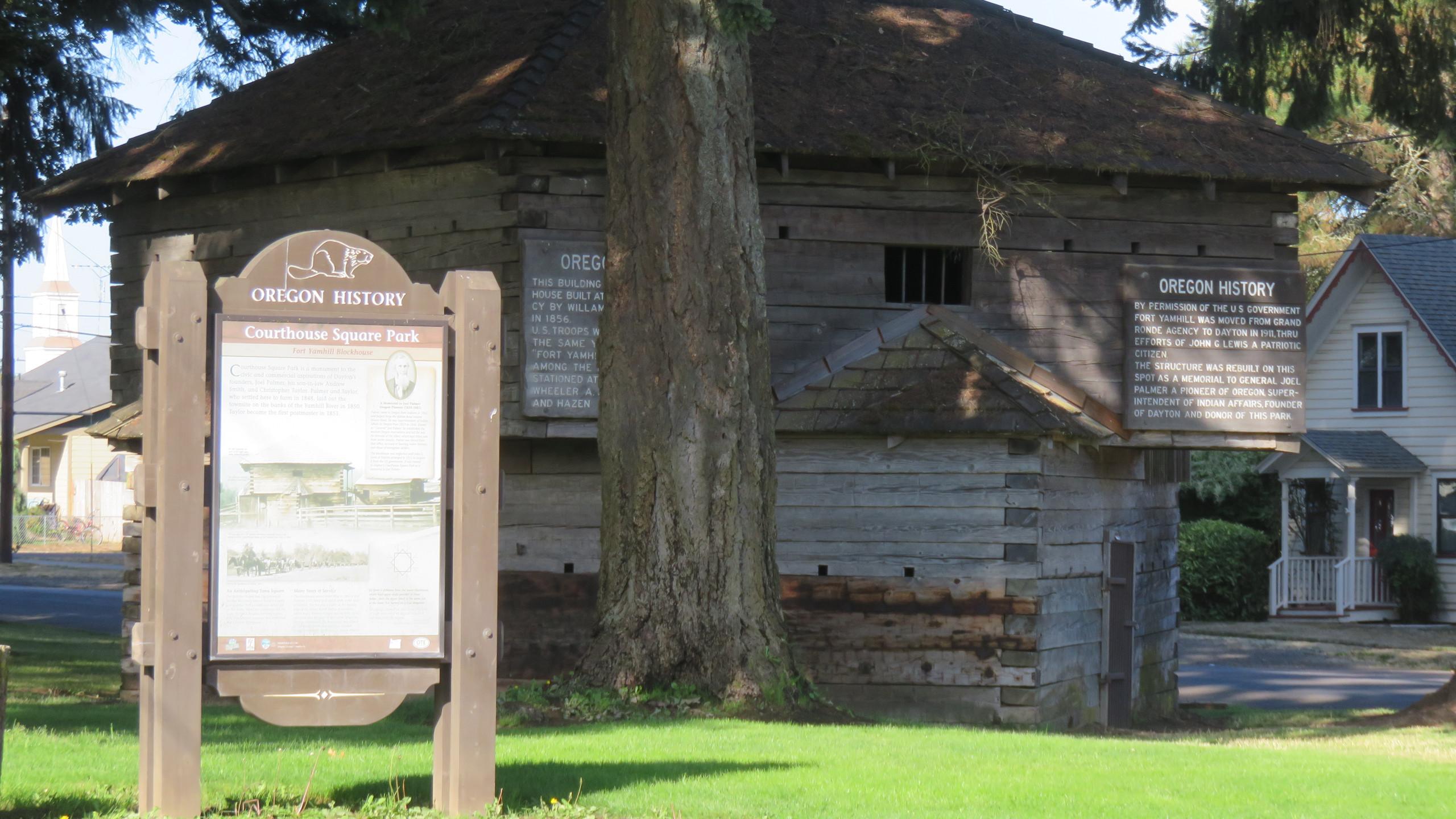 Historic Blockhouse
