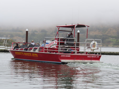 Delivering The Mail By Jet Boat