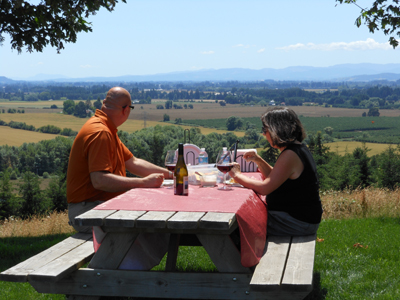 Private Vineyard Picnic