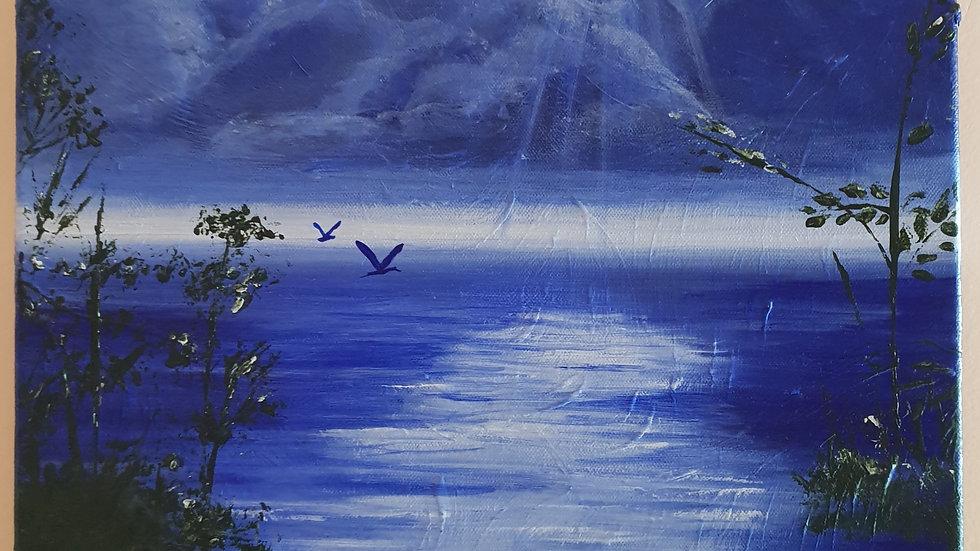 soir bleu