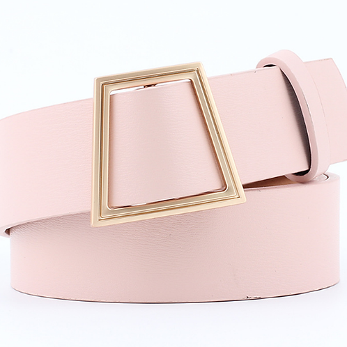 Modern Women's Belt. Pin Buckle, Real Leather Belt!