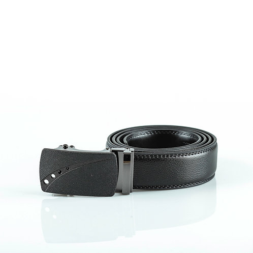 Classy Men's Belt, Matt color Automatic Buckle for Real Genuine Leather!