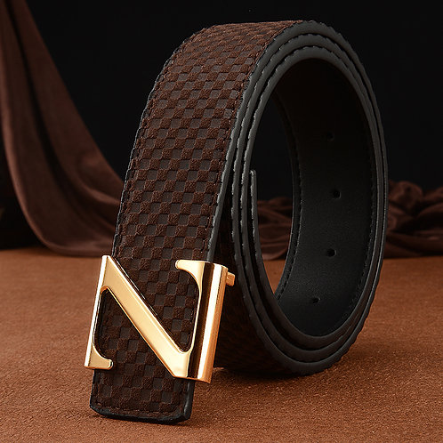 Luxury Women's Belt. Pin Buckle, Real Leather Belt!
