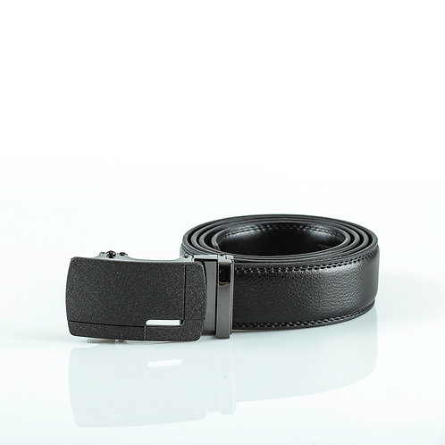 Casual Men's Belt, Matt color Automatic Buckle for Real Genuine Leather!