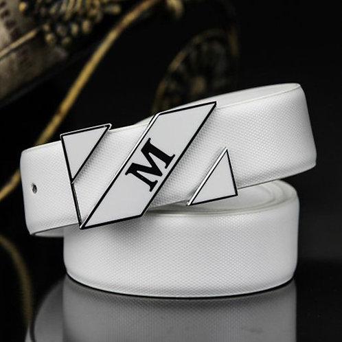 Modern Women's Belt. Pin Buckle, Real Leather Belt!