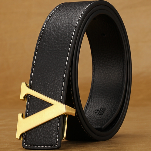 Classical Women's Belt. Pin Buckle, Real Leather Belt!