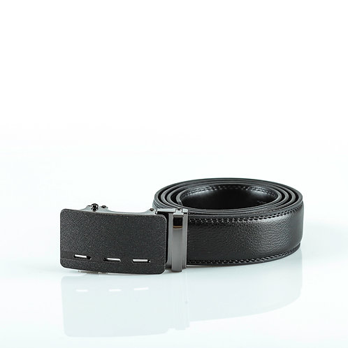 Modern Men's Belt, Matt color Automatic Buckle for Real Genuine Leather!