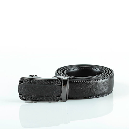 Classic Men's Belt, Matt color Automatic Buckle for Real Genuine Leather!