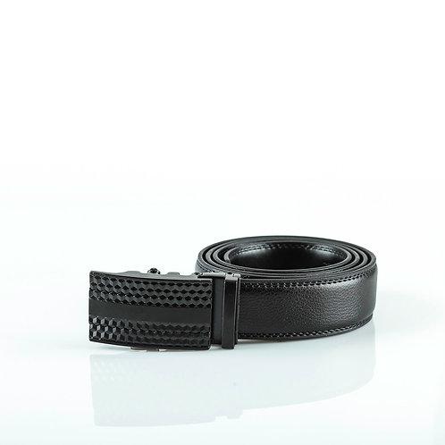 Designer Men's Belt, Black color Automatic Buckle, Real Genuine Leather