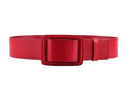 Classical Women's Belt. Wide strap, Real Leather Belt!