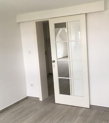 Pose de portes