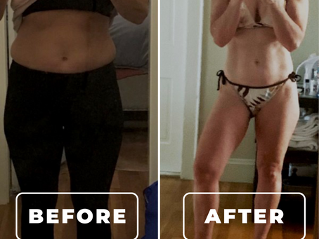 Nicole's Results from Personal Training are Major Goals