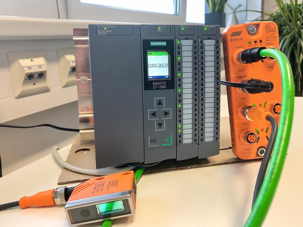 IO-Link Apparatur Obexer
