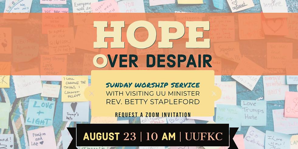 Hope Over Despair