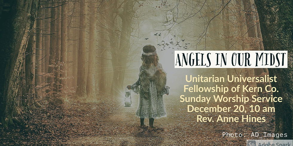 Angels In Our Midst, Rev. Anne Hines
