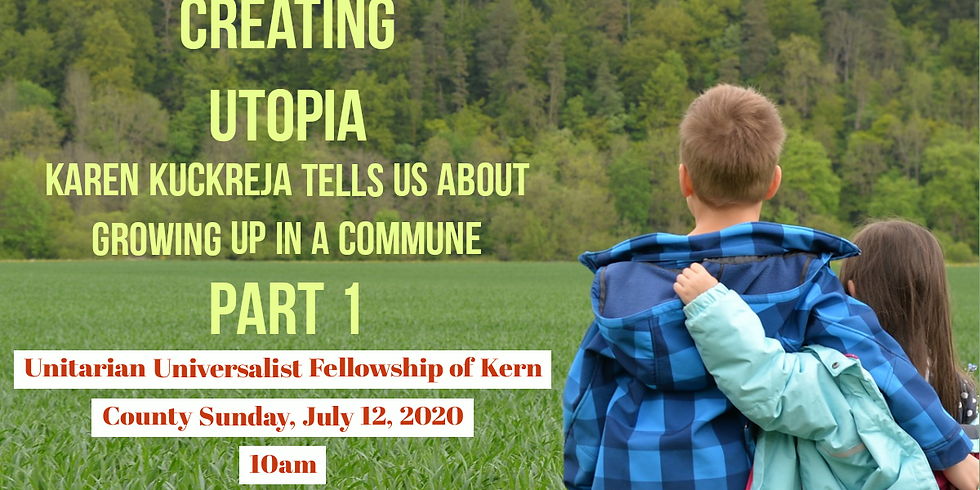 """Creating Utopia"" Sunday Worship Service"
