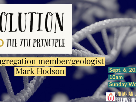 Evolution and the Seventh Principle by Mark Hodson, September 6, 2020