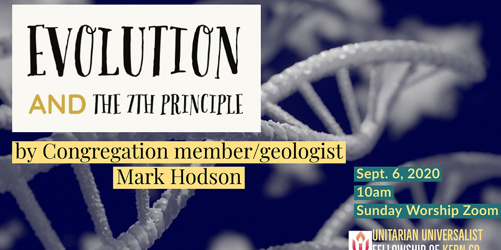 Evolution and the Seventh Principle by Mark Hodson, Geologist