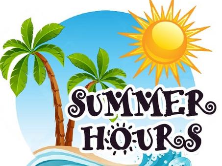 6/2/21 Shops of Hope Summer Hours!
