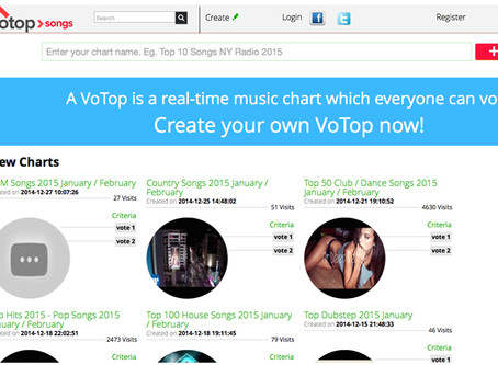 VoTop - the new way to make hits