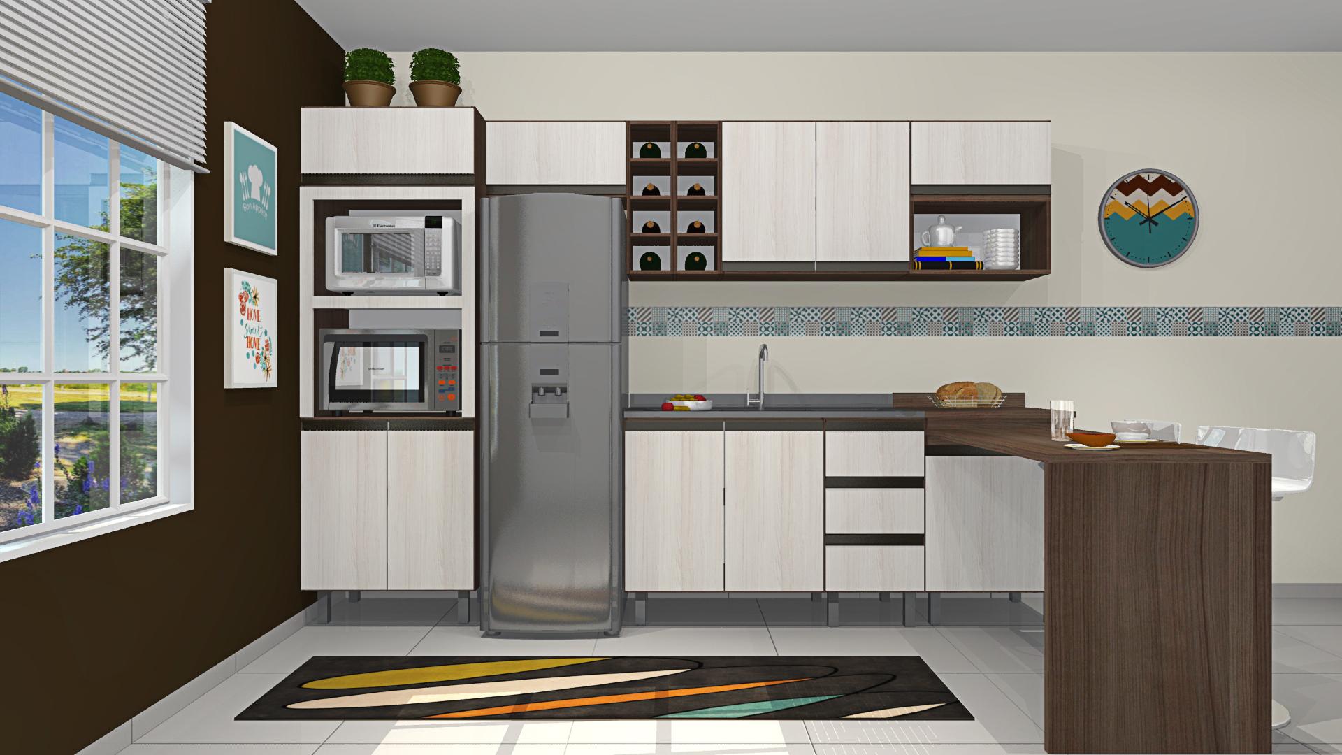 Cozinha Cristal