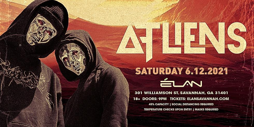 ATLiens at Elan Savannah (Sat, June 12th)