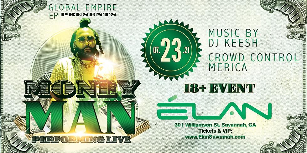 Money Man Live at Elan Savannah (Fri, Jul 23rd)