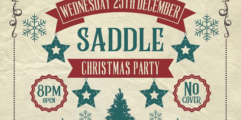 Christmas Party At Saddlebags (Dec. 25th)