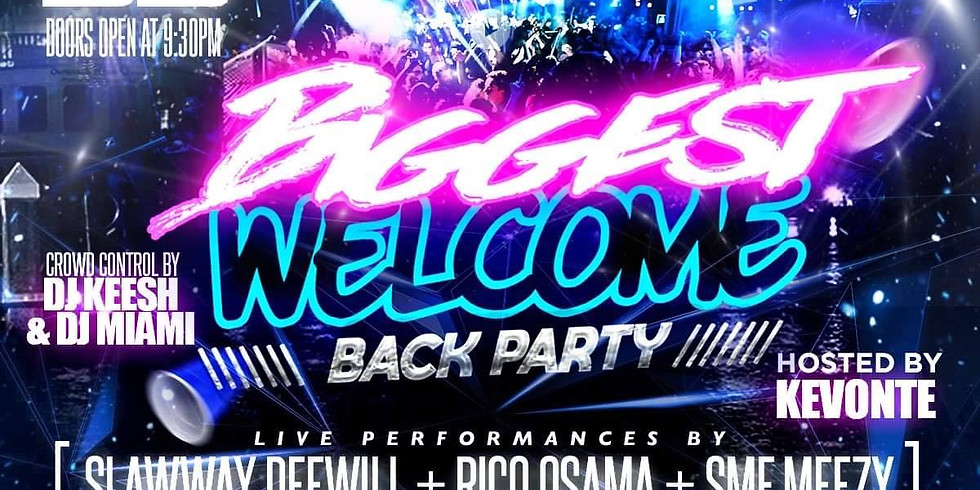 Biggest College Welcome Back Party
