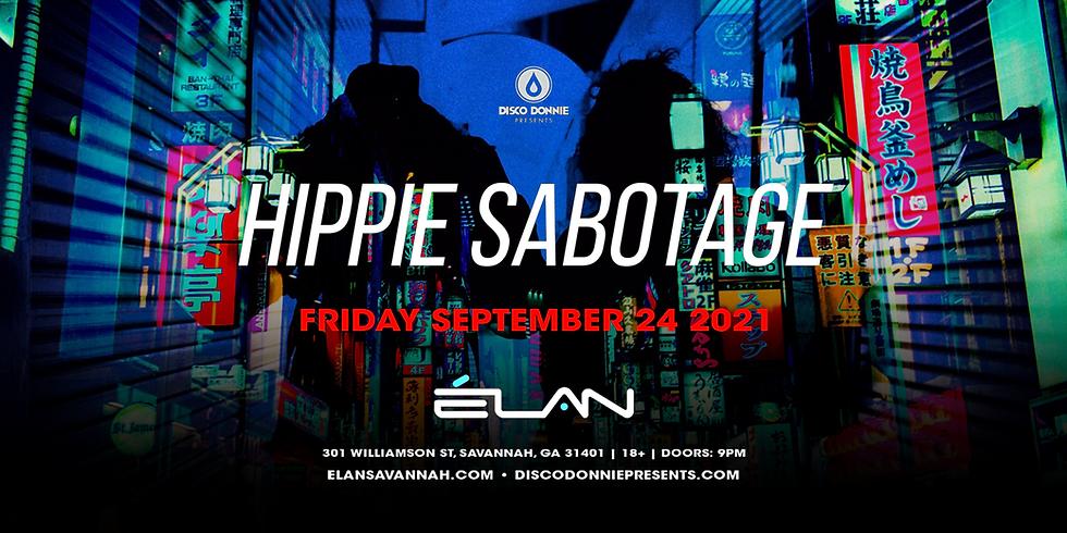 Hippie Sabotage at Elan Savannah (Fri, Sep. 24th)