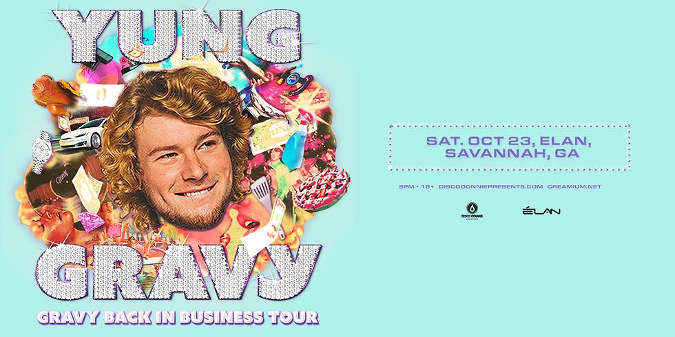 Yung Gravy - Back in Business Tour at Elan Savannah (Sat, Oct 23rd)