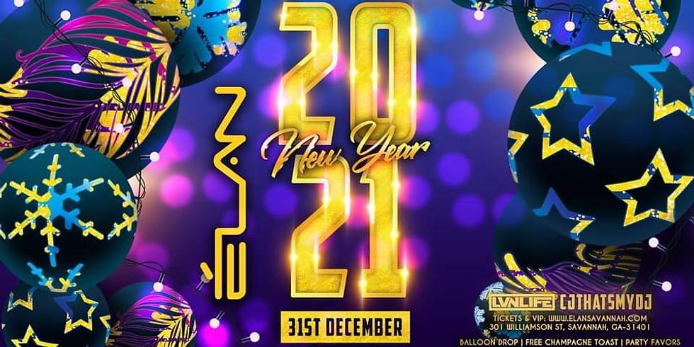 New Year's Eve Bash at Elan Savannah (Dec. 31st)
