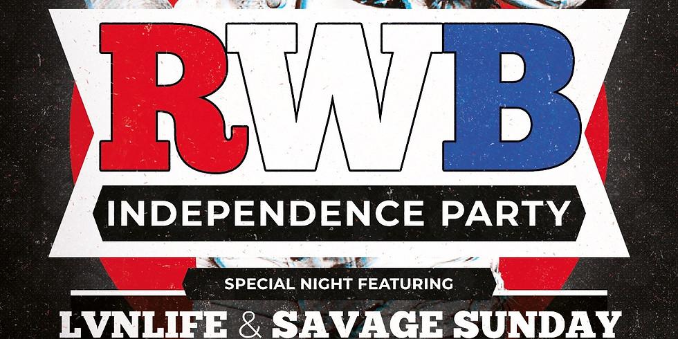RWB Independence Party at Elan Savannah (Fri, July 2nd)