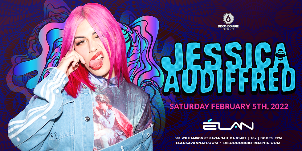Jessica Audiffred at Elan Savannah (Sat, Feb 5th)