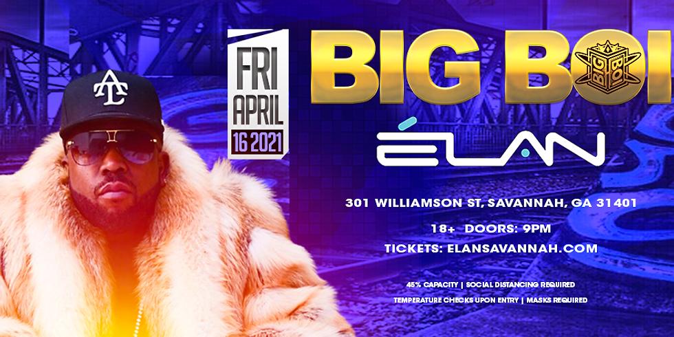 Big Boi Live (Fri. Apr. 16th)