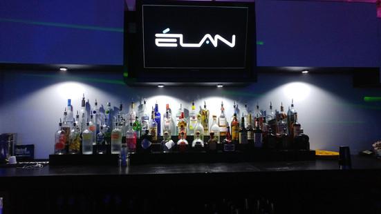 The bar at Elan Savannah